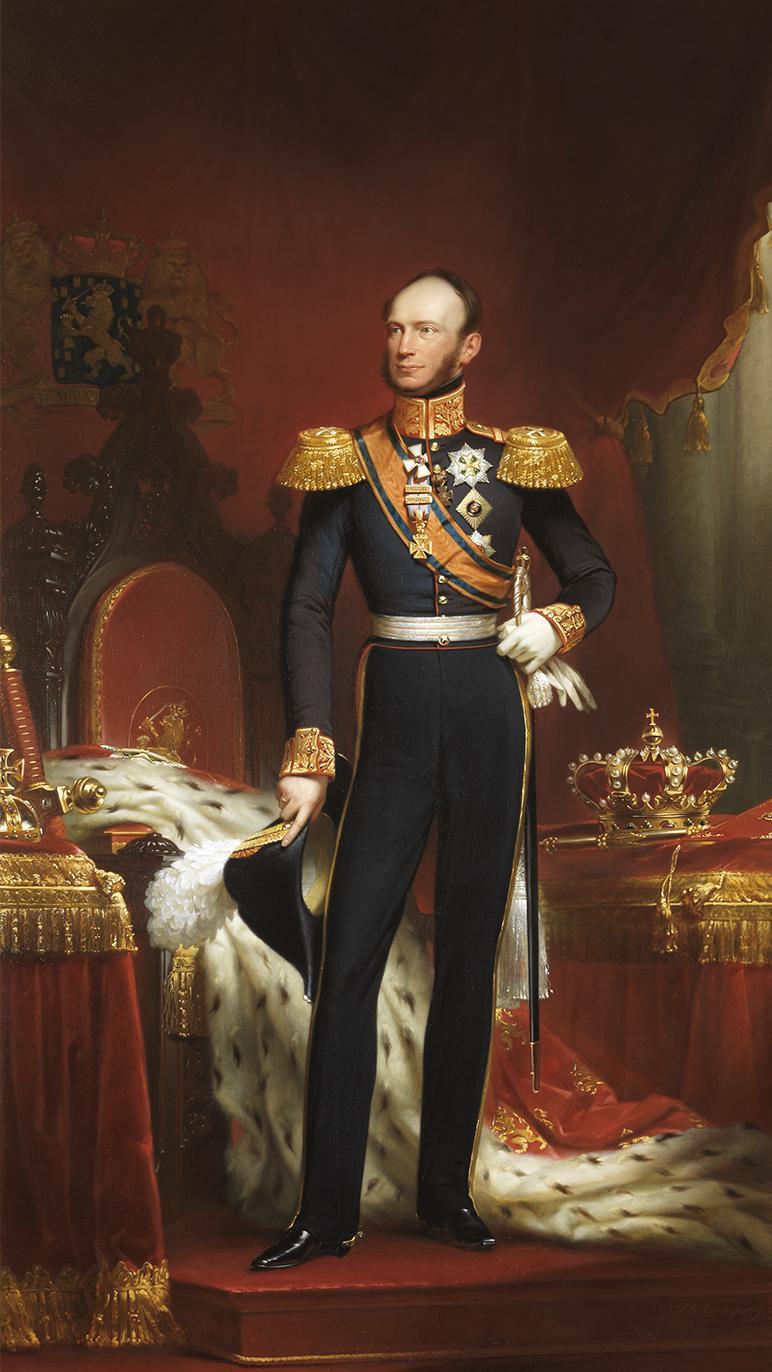 Willem II Koning der Nederlanden Binnenhof